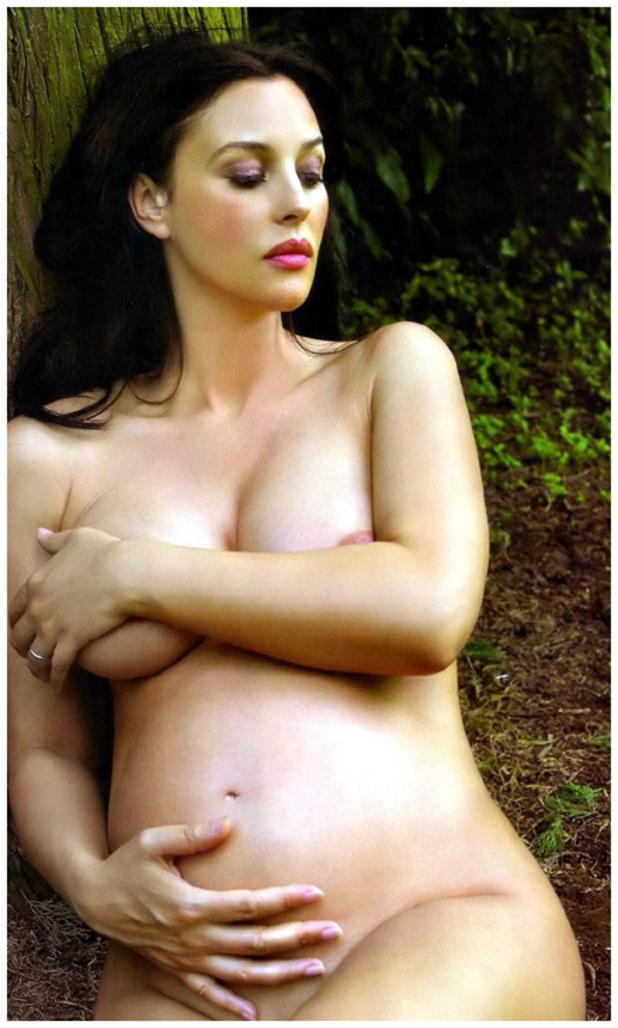Monica Bellucci fue madre a los 40 años