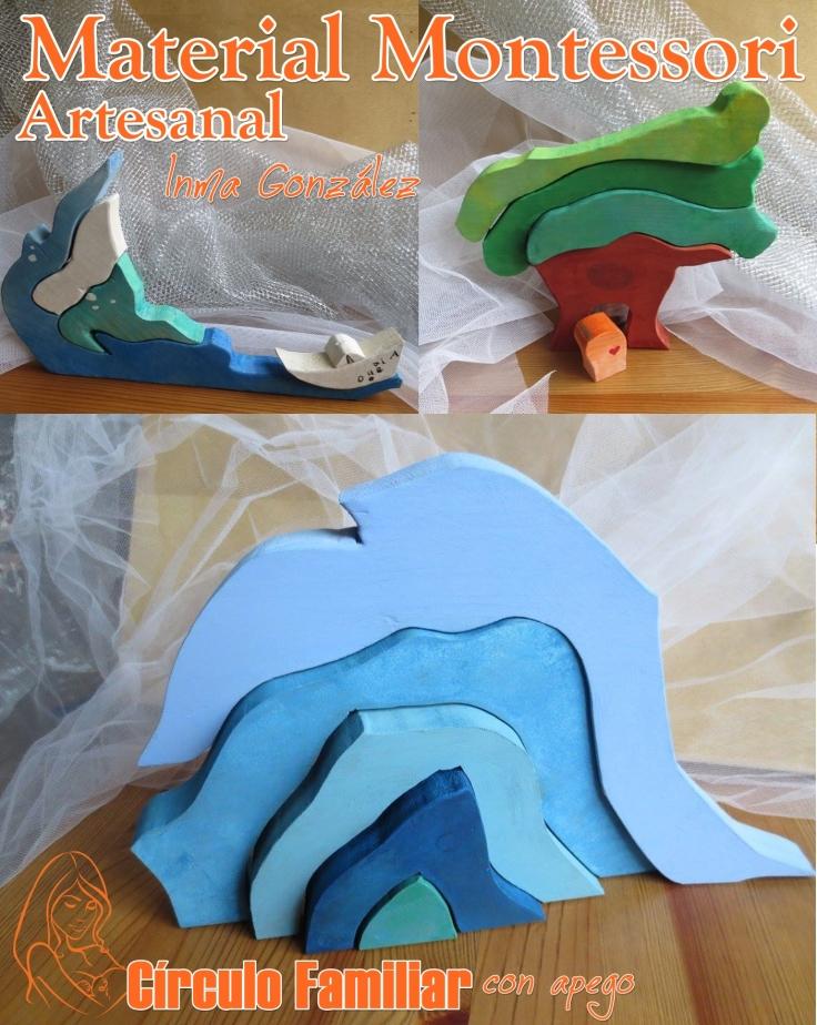 juguetes montessori artesanales