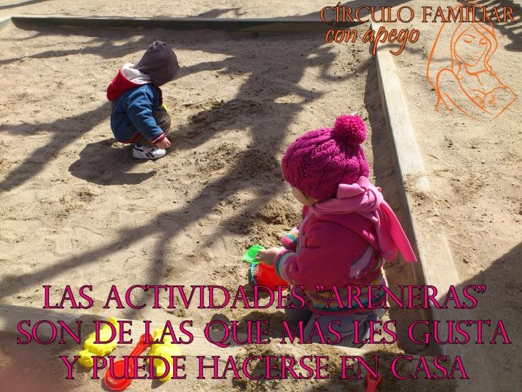 Areneros y beneficios en el desarrollo infantil