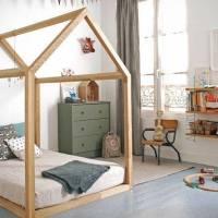 Habitación infantil con inspiración Montessori