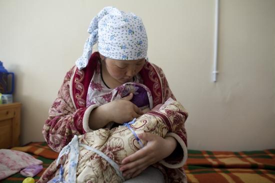 lactancia materna mongolia
