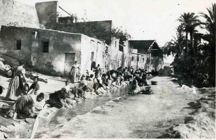 Elche, España. Principios del siglo XX