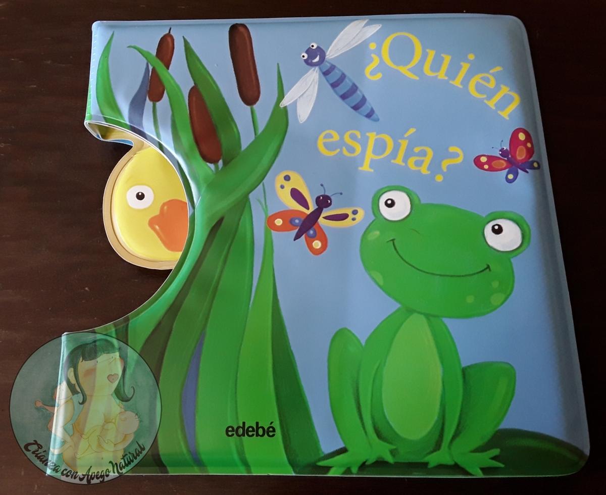 """""""¿Quién espía?"""" Un libro para el baño del bebé"""